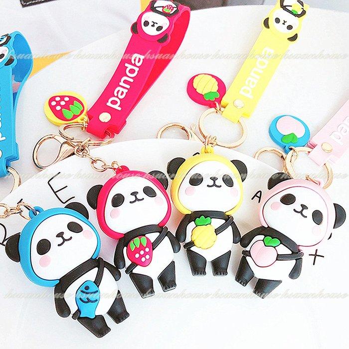 熊貓 貓熊 鑰匙圈 鑰匙扣 吊飾