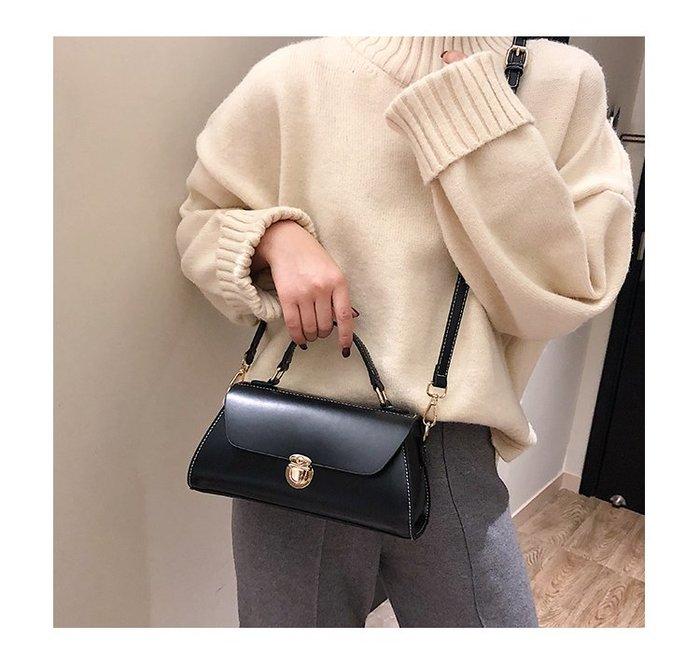 FINDSENSE X 韓國 時尚 簡約 女士 小方包 單肩包 斜挎包 手提包