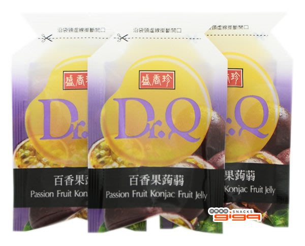 【吉嘉食品】盛香珍 成偉 Dr.Q 蒟蒻果凍-百香果 600公克[#600]{0166202}