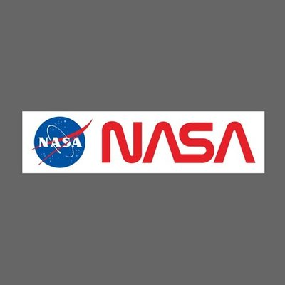 NASA 美國太空總署 航空公司 防水貼紙