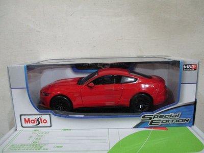 1風火輪多美美捷輪Maisto紅1/ 18合金車福特2015 Ford Mustang GT野馬1:18跑車八佰五一元起標 新北市