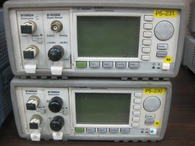 弘燁科技 Agilent 8163A+81560A+81636B Lightwave Multimeter/維修服務另洽