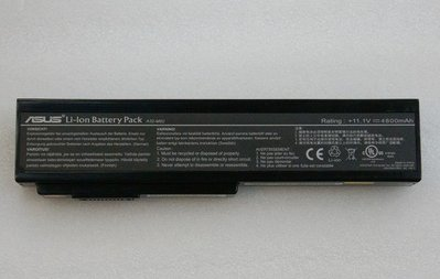 ☆【全新 ASUS 華碩 M50 X50 X57 L50 G50 G60 N61 N43 N43S N53 原廠電池】