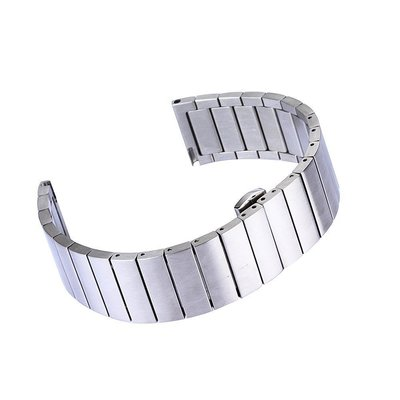 佳明 Garmin Forerunner745 手錶 20mm 一株蝴蝶扣 金屬不銹鋼 替換腕帶 時尚簡約 商務型手錶帶