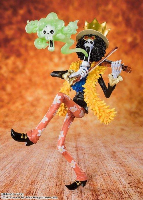 海賊王 20周年 動畫版模型 十人草帽團 布鲁克