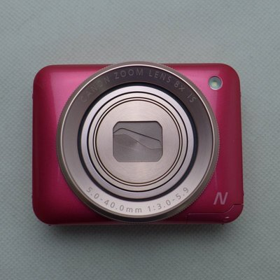 5Cgo【權宇】陸版Canon數位相機粉餅機PowerShot N2(粉紅/白兩色)全方位自拍為設計概念 另有N1 含稅