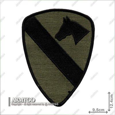 【ARMYGO】美軍第一騎兵師團臂章(二)