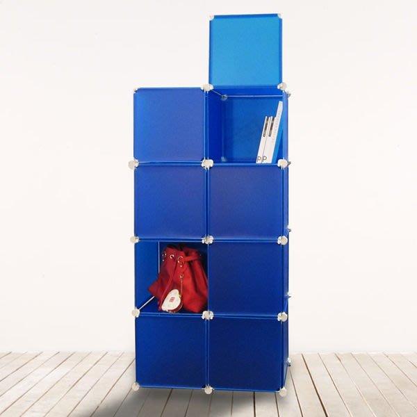 收納櫃 櫃子【居家大師】繽紛樂8格8門收納櫃玩具收納電腦桌茶几桌電視櫃收納櫃全身鏡b