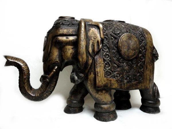 藏雅軒-手工打造-大型銅雕製品-吉祥象