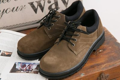 Ovan Soletec 1015 男女款 寬楦鋼頭 防穿刺 耐油 耐高溫 柔軟反毛皮 MIT專業手工安全鞋 工作鞋