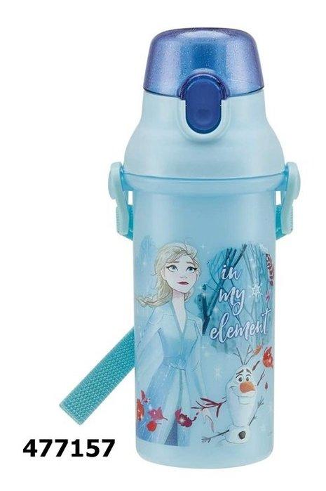 日本製 冰雪奇緣 477157直飲式水壺480ml日本正版 通販 同系列水壺4款合購免運