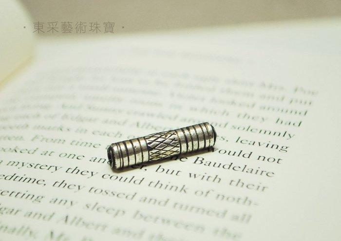 ~東采藝術珠寶~老件 925純銀珠 早期 925銀珠珠子 OSI00021 飾品材料串珠