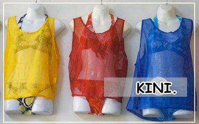 熱浪來襲*運動/戲水*盛夏比基尼外搭-休閒背心式-網洞罩衫(輕薄/透氣)亮眼三色-特價200元