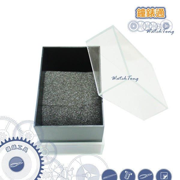 【鐘錶通】03G.1901 錶盒/壓克力展示盒/透明錶盒├鐘錶保養收藏/手錶收納整理/包裝┤