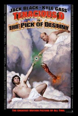 吉他狂想曲-Tenacious D in 'The Pick of Destiny' (2006)原版電影海報