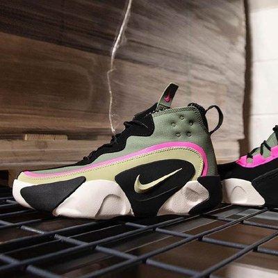 Nike React Frenzy 黑綠 復古 舒適 減震 泡棉 耐磨 輕便 慢跑鞋 CN0842-300 男鞋