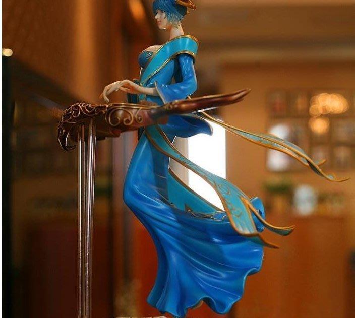 游戲公仔英雄联盟游戏手办 正版 大号 琴女 周边模型玩偶公仔玩具