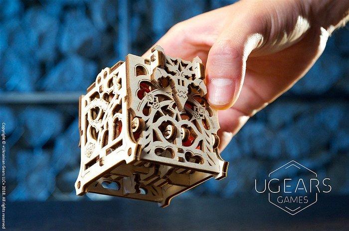 UGEARS 機械桌遊系列- 骰子守護者 烏克蘭製造 桌遊配件