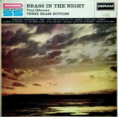 黑膠唱片(片況NM-)-Tony Osborne's Three Brass Buttons-1967發行