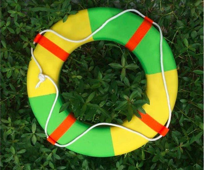 【奇滿來】游泳圈 成人救生圈 可搭配救生繩 海灘主題背景裝飾佈置 酒吧咖啡廳游泳池 船用救生圈AQBY
