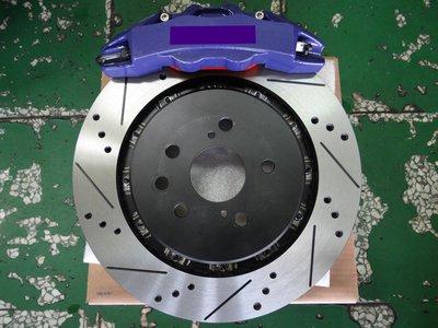 {順加輪胎}客製化 對向六活塞卡鉗 搭配345mm加大浮動碟 PREVIA 後輪實裝圖 另有BREMBO KIDO AP
