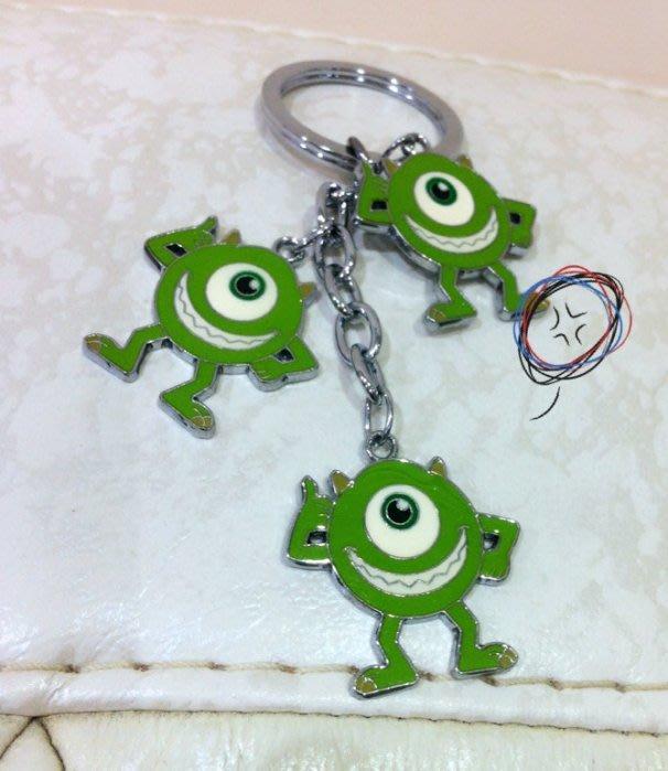 《東京家族》怪獸大學 麥克 鑰匙圈/吊飾