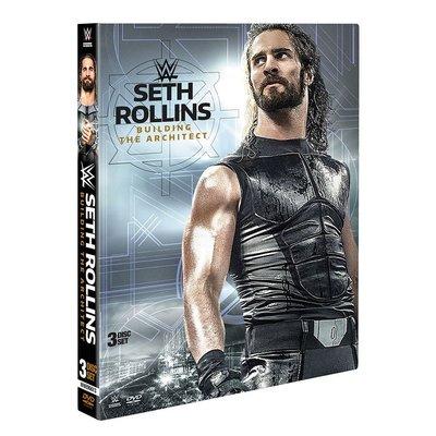 ☆阿Su倉庫☆WWE摔角 Seth Rollins Building The Architect DVD SR精選專輯