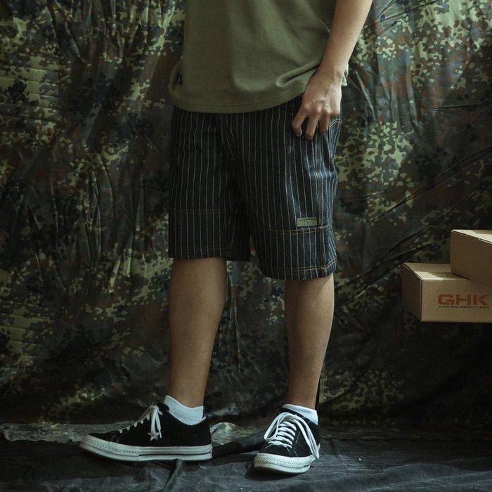 GHK Veteran Collection Denim Shorts 黑色丹寧