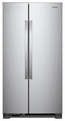 Whirlpool惠而浦 740公升 定頻對開雙門電冰箱 WRS315SNHM 無框強化玻璃層板 耐重門邊盒