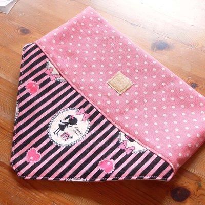 手作餐具袋 餐具袋訂做 甜美粉紅公主風   番玉手作