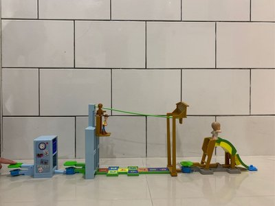 玩具總動員Toy Story 3 Action Links Sunnyside Breakout Stunt Set