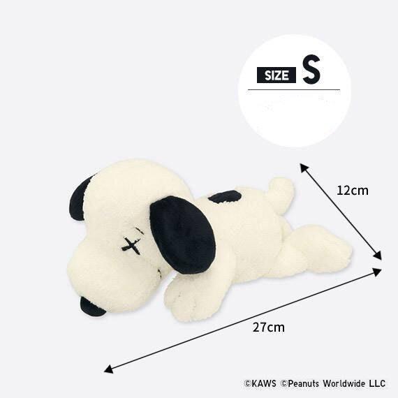 【柏】台灣公司貨 UNIQLO KAWS x PEANUTS SNOOPY 史努比 玩偶 娃娃 S號 小隻