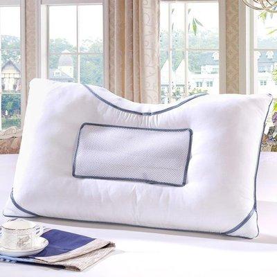 枕頭 艾薇家紡 決明子磁療枕頭 成人保健助睡眠護頸椎可水洗枕芯