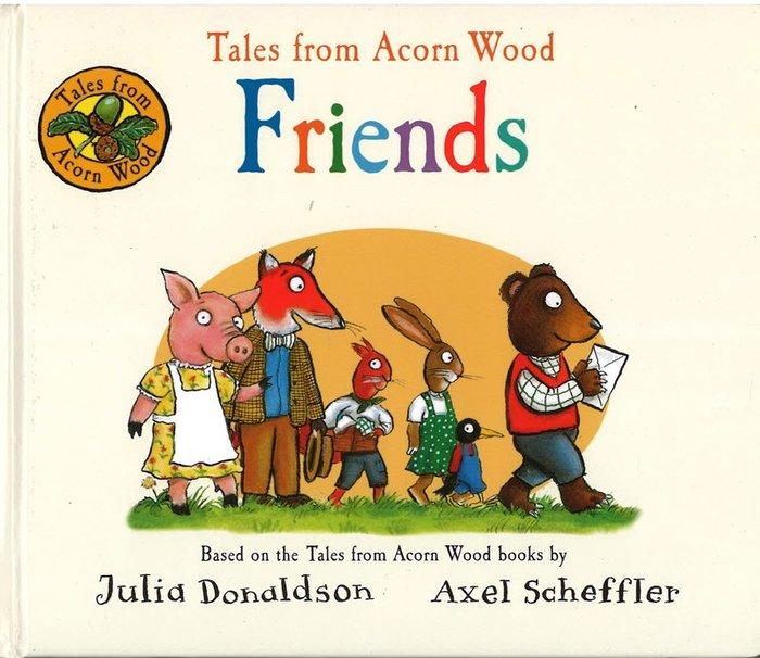 *小貝比的家*TALES FROM ACORN WOOD:FRIENDS/硬頁/0~2歲/基礎認知