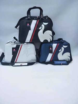 新款高爾夫Le Coq Sportif/樂卡克衣物包男女款輕便單肩斜挎旅行