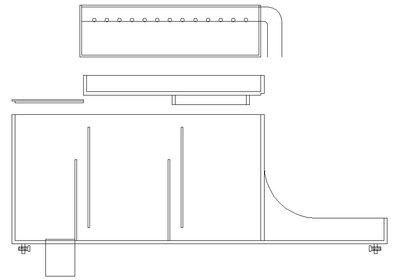 乾濕分離上部式過濾槽 上部 過濾 2尺 乾濕 過濾 槽 開放缸