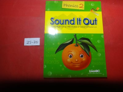 【愛悅二手書坊 21-20】 Sound It Out Phonics 2     LiveABC(無光碟)