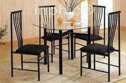 INPHIC-田園風格 鐵藝餐桌椅鐵藝椅子鐵藝休閒椅 椅子b