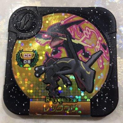 [勁敵珍藏彈] 金卡 烈空座 CC08 神奇寶貝 Pokémon Tretta 卡匣 金超夢