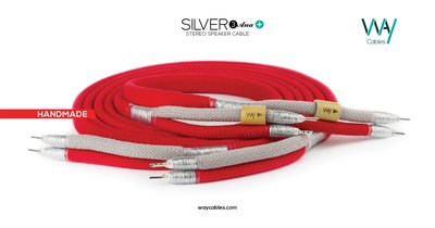 WAYCables SILVER 3 Ana+ 5N單晶銀 Speaker Cable 歡迎來電洽詢