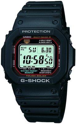 日本正版 CASIO 卡西歐 G-Shock GW-M5610-1JF 男錶 電波錶 太陽能充電 日本代購