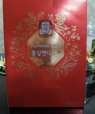 [預購] 韓國直送正官庄 原廠原裝 Renesse 紅蔘糖 高麗蔘糖 大盒裝  非代理商產品