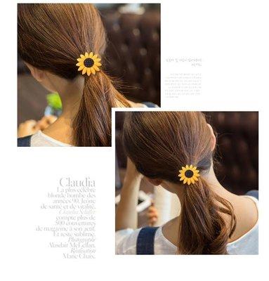 韓版  太陽花 笑臉 飛機 髮飾 飾品 手飾 髮圈 復古 流行 髮束 髮帶 頭飾 髮夾 抓夾 馬尾 橡皮筋 橡皮圈