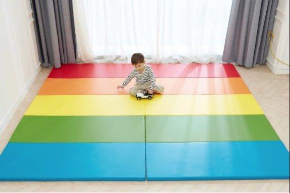 韓國預購 mom&maum 四摺 四折  摺疊遊戲墊 200*100*4 兩片 嬰兒爬行墊 幼兒遊戲墊 摺疊地墊