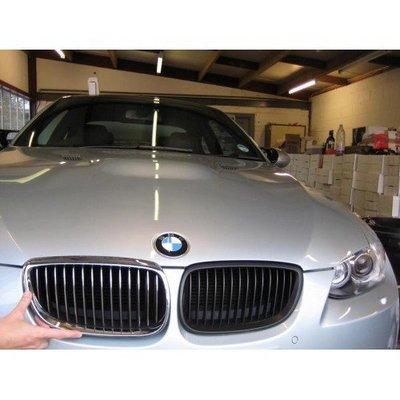 【PA LED】BMW E92 E93 M3 06-09 小改款前 消光黑 霧黑 平光黑 水箱罩 鼻頭 外銷品