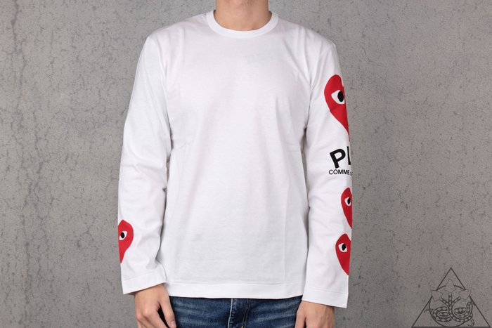 【HYDRA】Comme Des Garcons Four Hearts L/S Tee 愛心 眼睛 長T【CDG03】