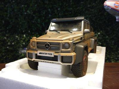 1/18 AUTOart Mercedes-AMG G63 6x6 Silver Muddy 76305【MGM】