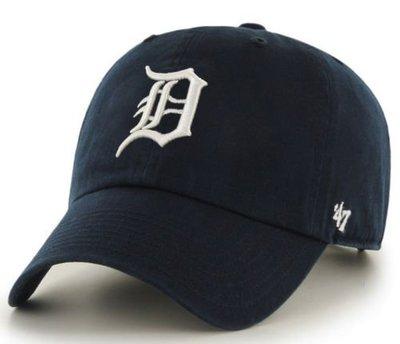 【YZY台灣】47 BRAND DETRIOT TIGERS 老虎 老帽 復古帽 老爺帽 MLB LOGO 經典 藍