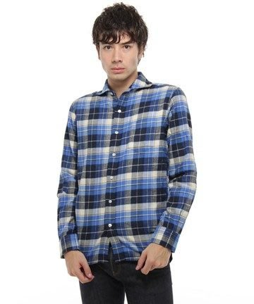 特價「NSS』BASE CONTROL tartan check nel shirt 襯衫 日本製 M L XL 法蘭絨