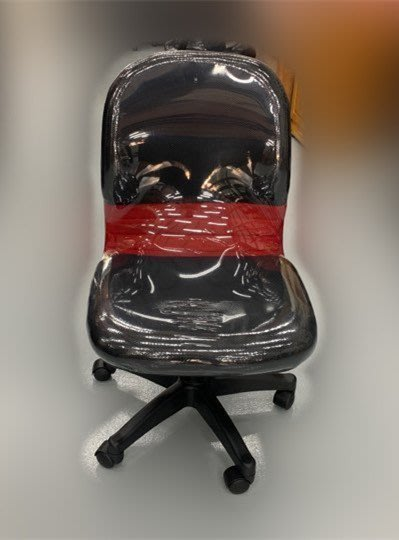 全新庫存家具賣場 EA150-3Fj*全新黑紅網辦公椅* 電腦書桌椅 辦公傢俱 辦公鐵櫃 北中南運送 新竹全新家具